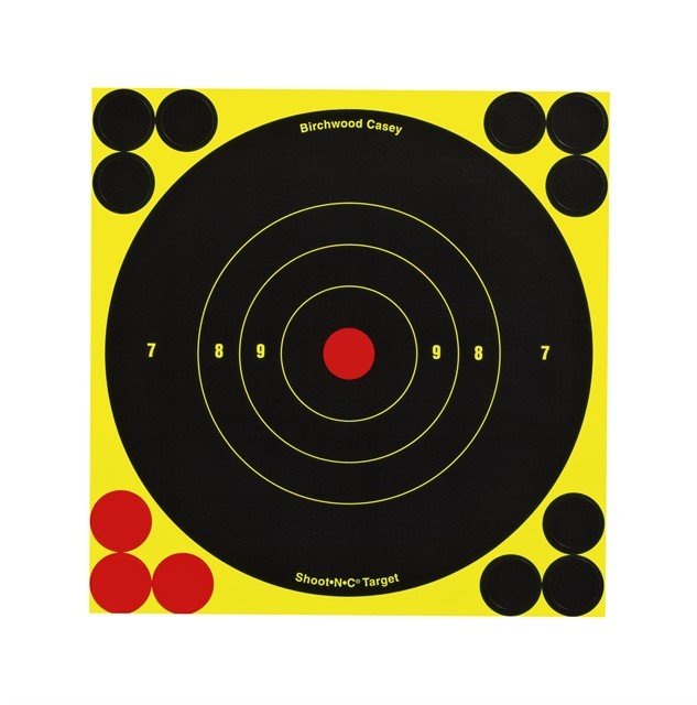 Мишень Shoot N C Self-Adhesive Targets проявляющая, 15см