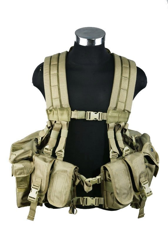 Разгрузочная система Pantac SEALS Floating Harness Khaki (VT-C933-TN-A)