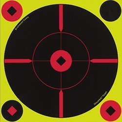 Мишень Shoot N C Self-Adhesive Targets, проявляющая, Mil-dot, 20см