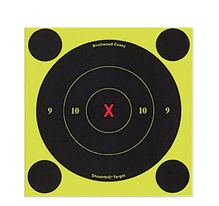 Мишень Shoot N C Self-Adhesive Targets, проявляющая, 15см