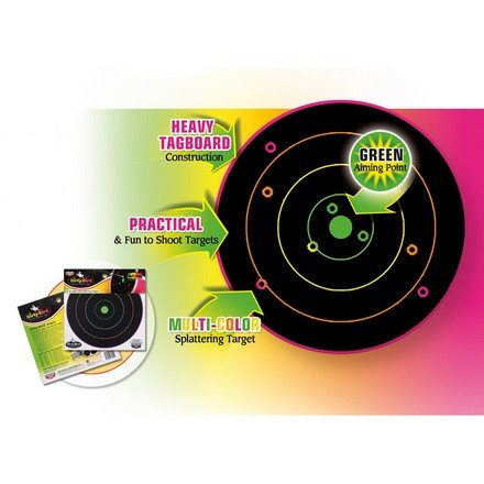 Мишень Dirty Bird Multi-Color Splattering Targets, 30см